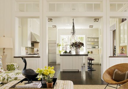 Napa Farm House Kitchen Entry