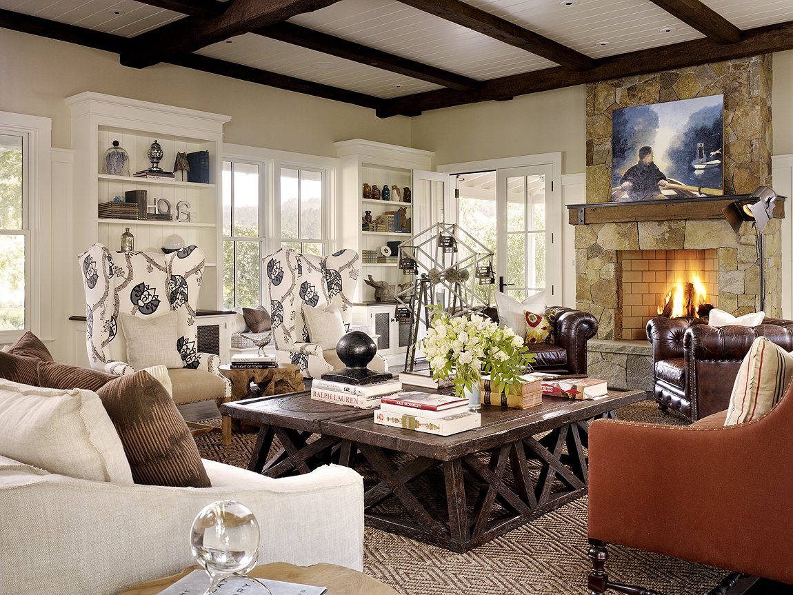Napa Farm House Living Room