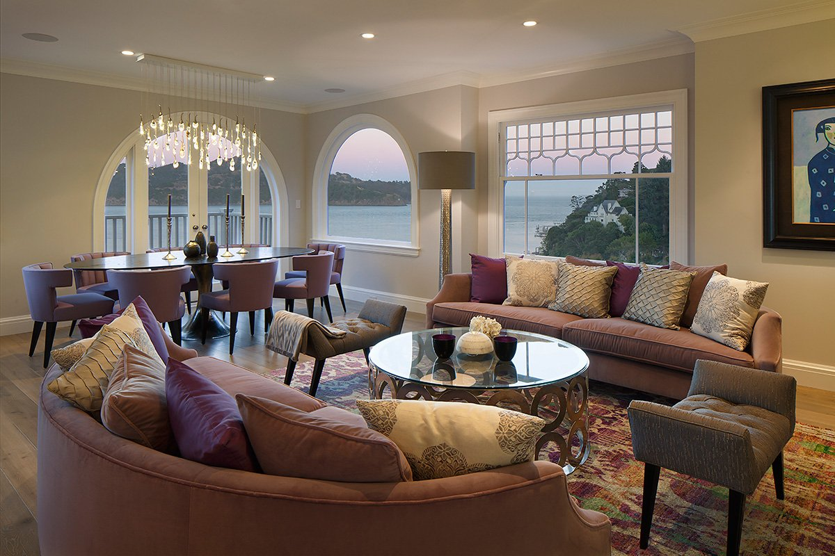 Belvedere Residence Living and Dining Room