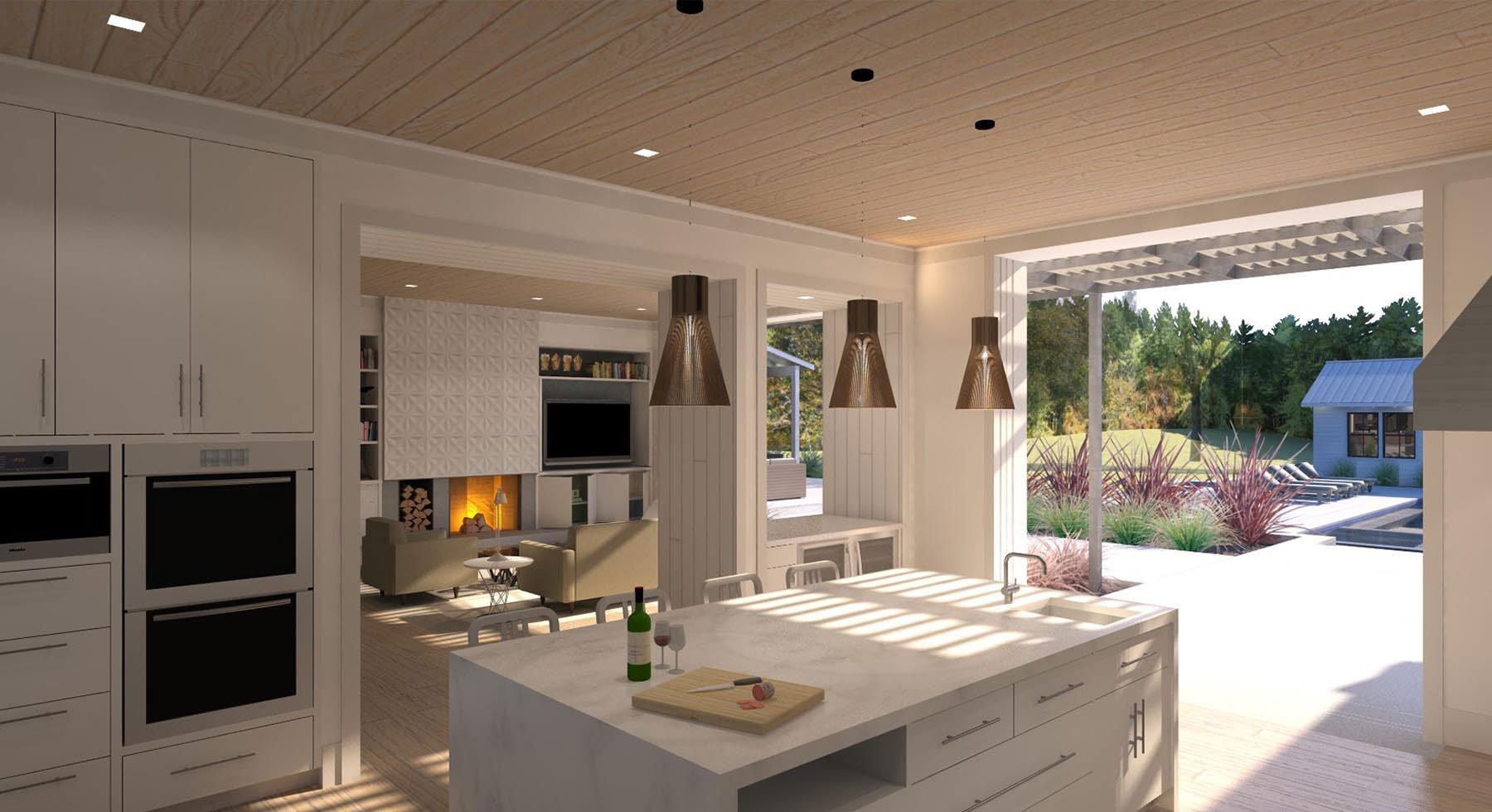 Marin Modern Farmhouse Kitchen