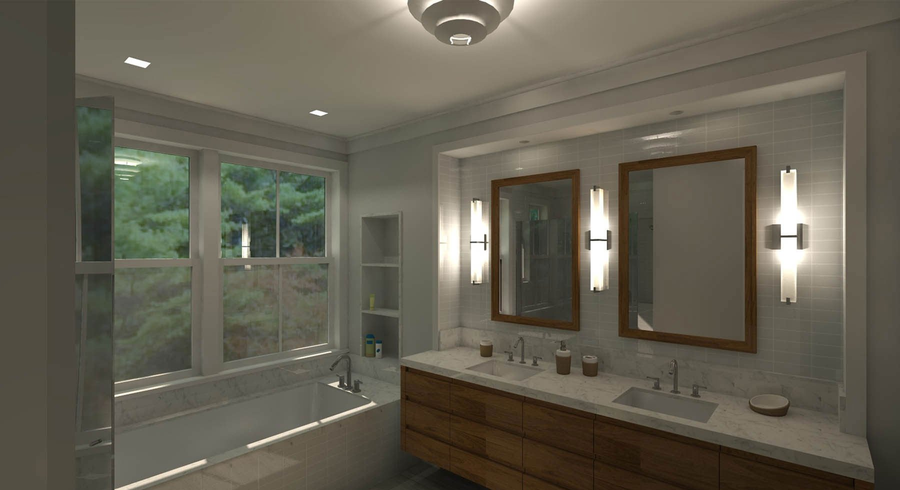 Marin Modern Farmhouse Bath