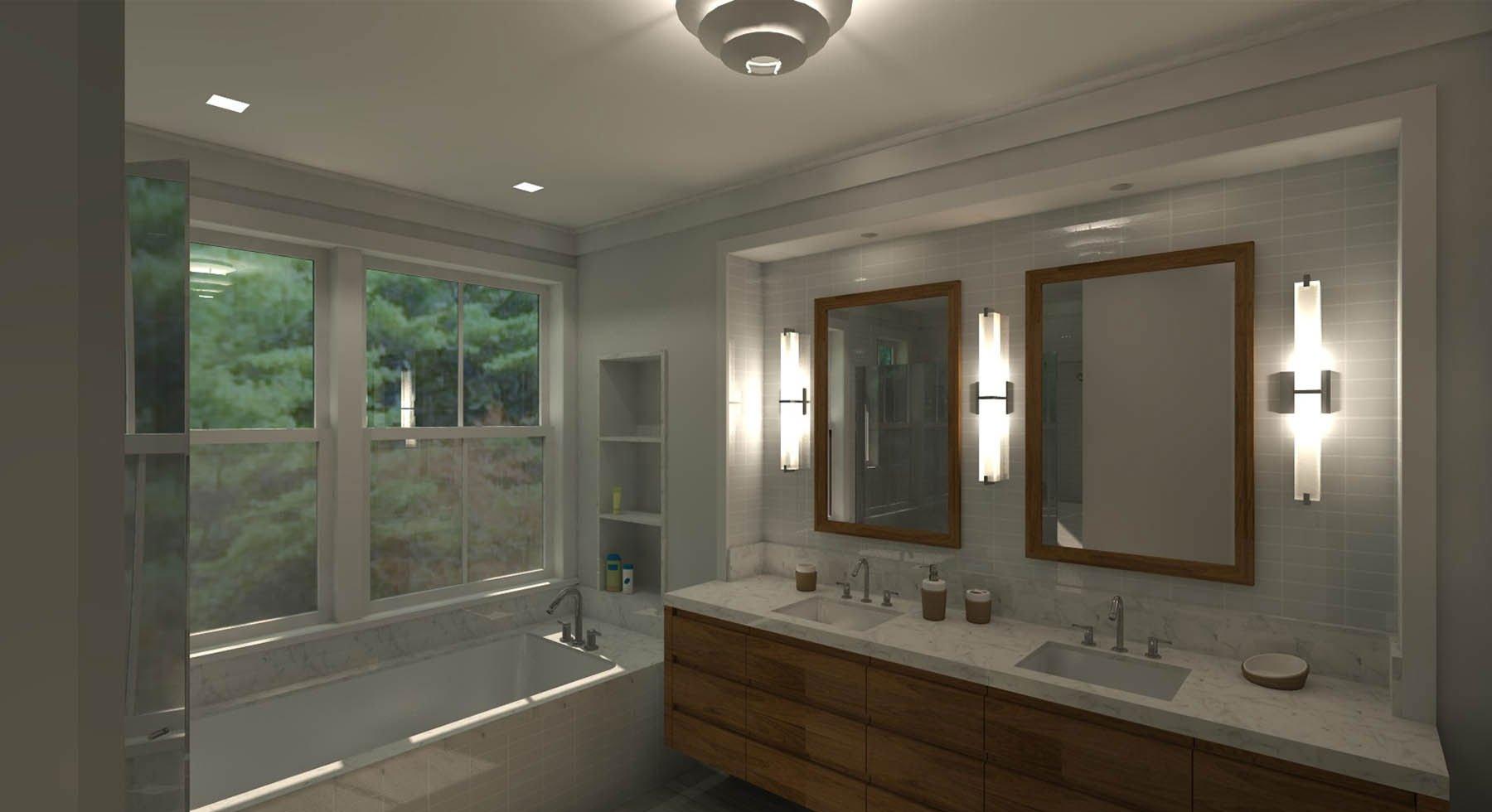 Marin Modern Farmhouse Bath