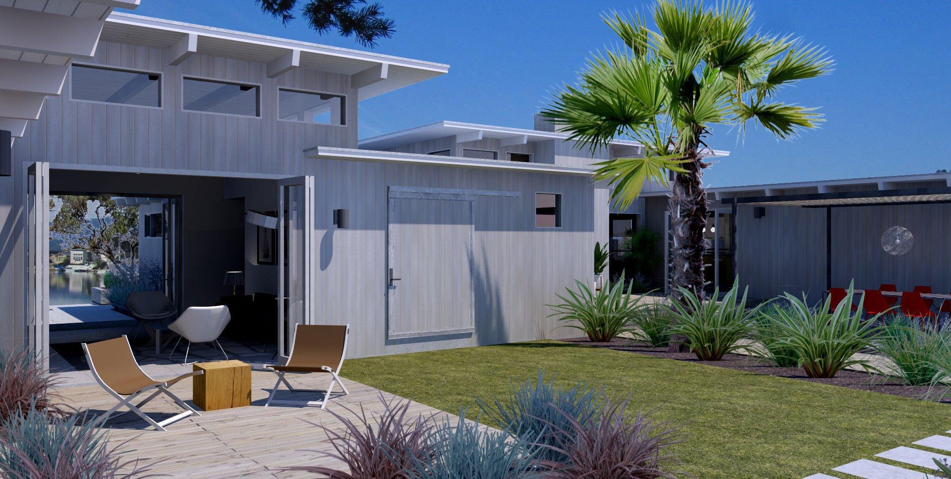 Stinson Beach House Deck