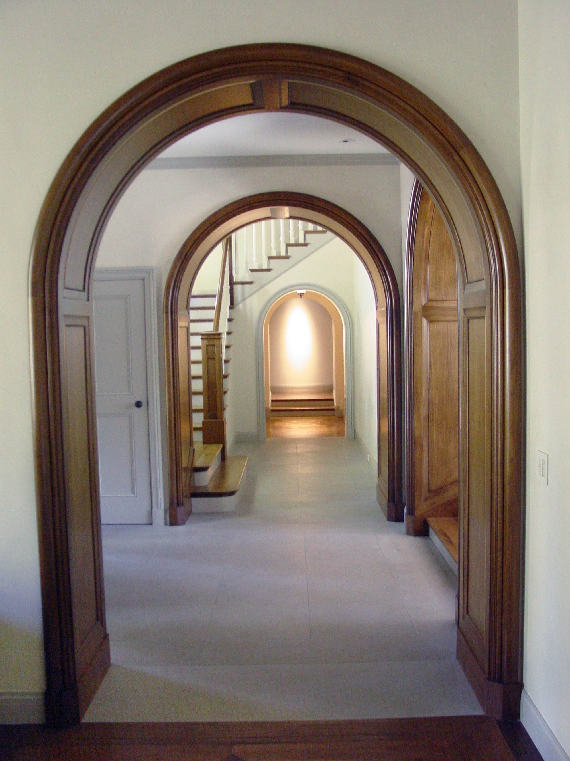 English Arts and Crafts Hallway