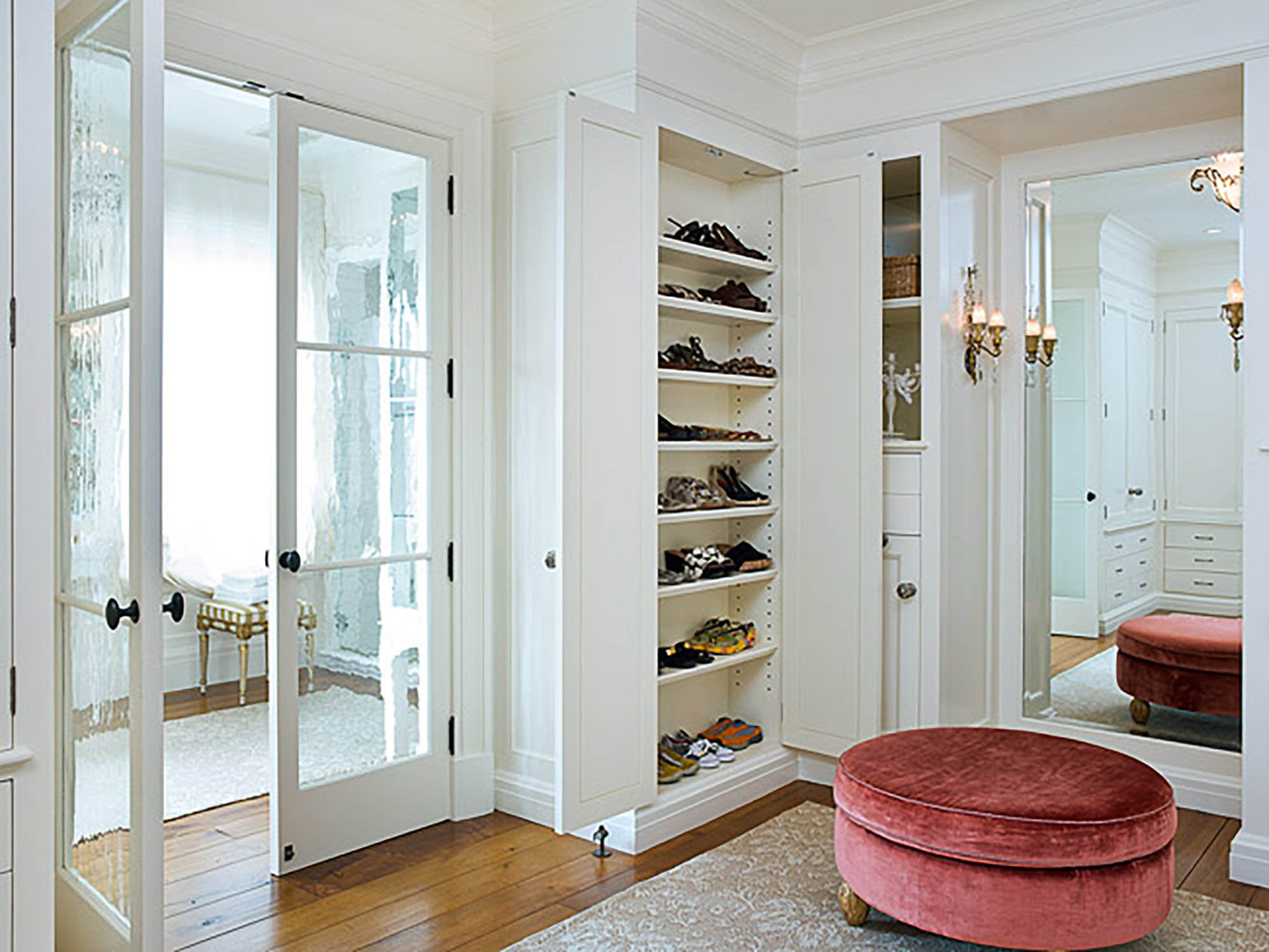 Pacific Heights Residence Closet
