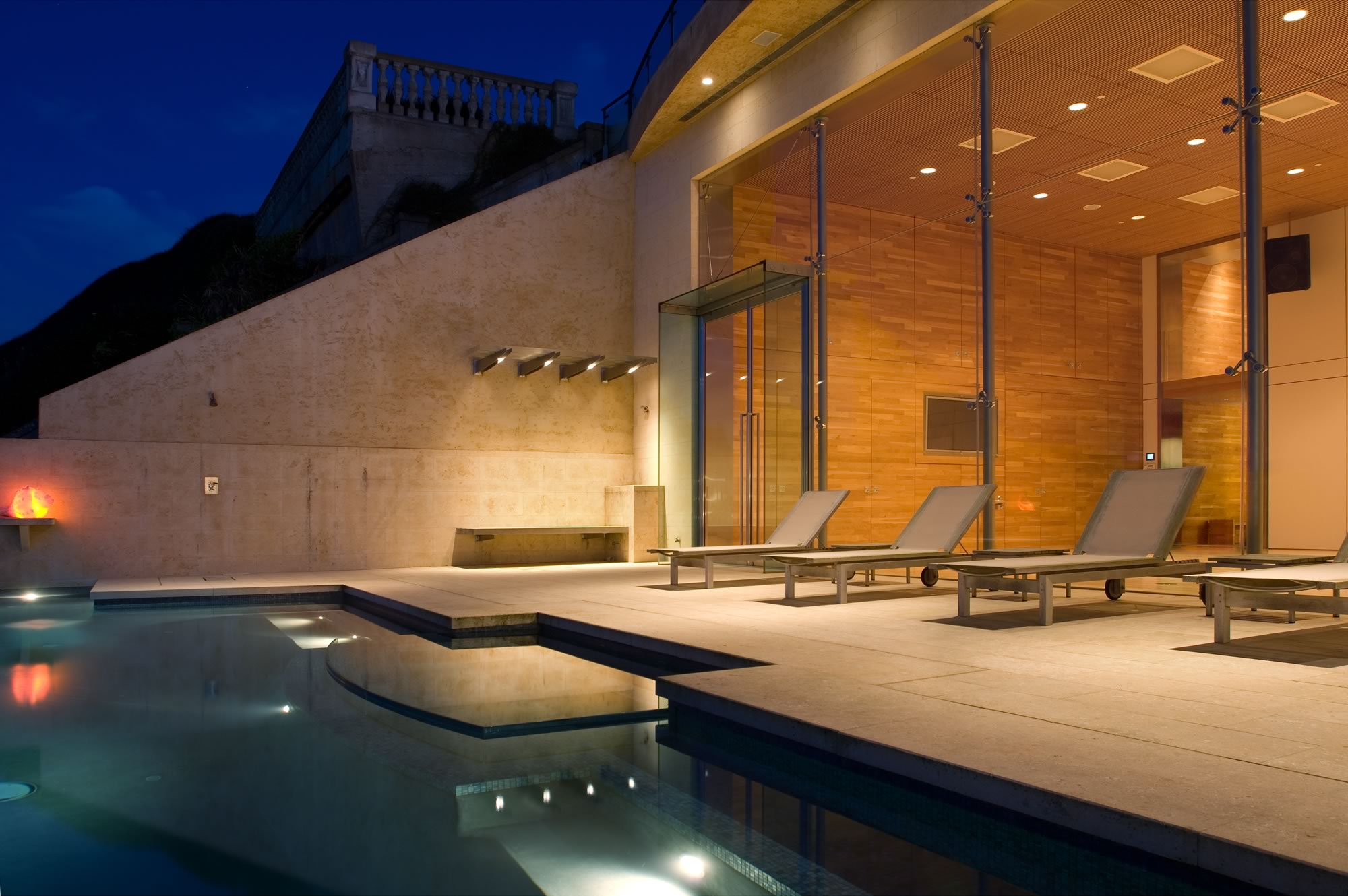 Sea Cliff Addition Pool by Stephen Willrich Architecture