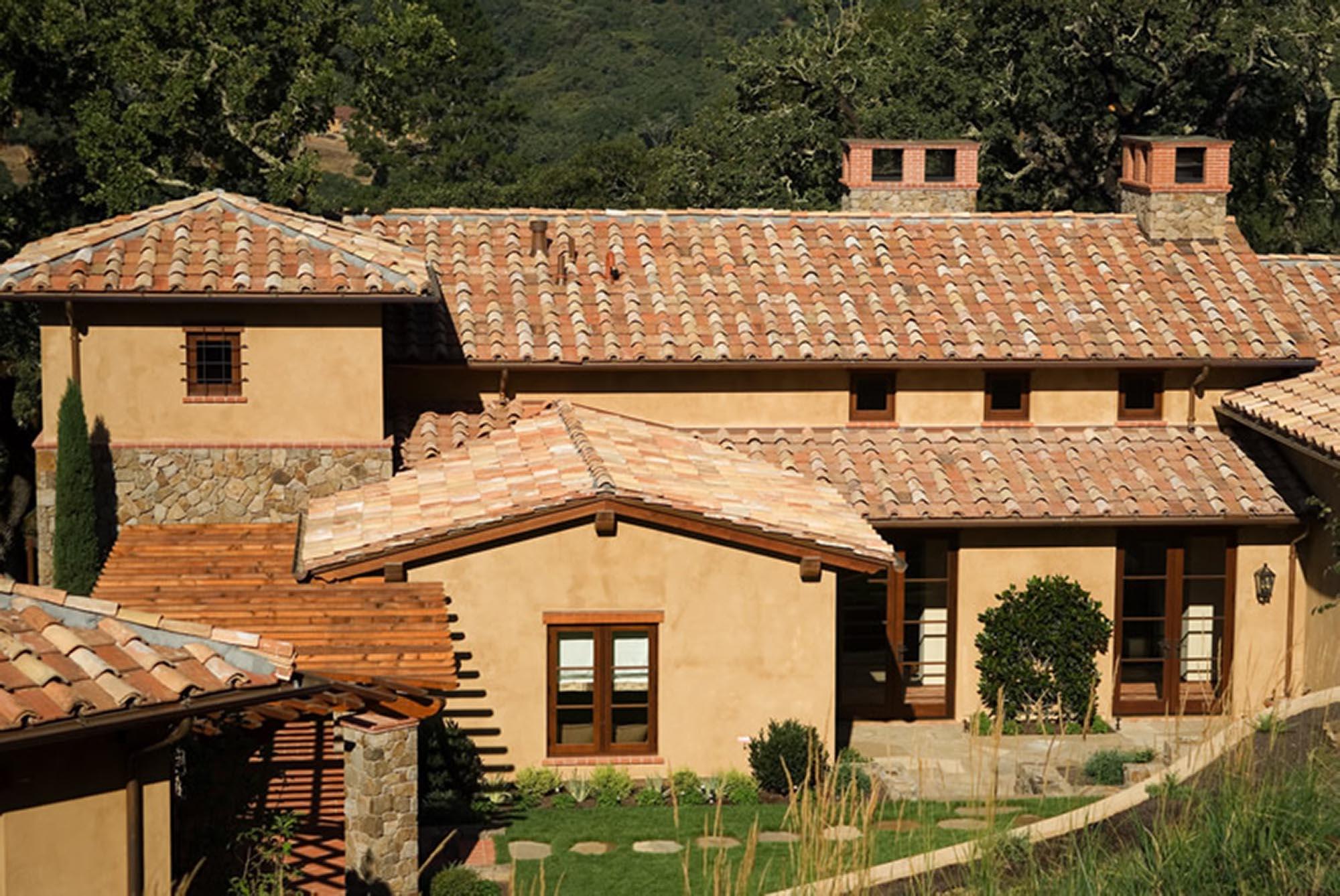 Wine Country Retreat elevation