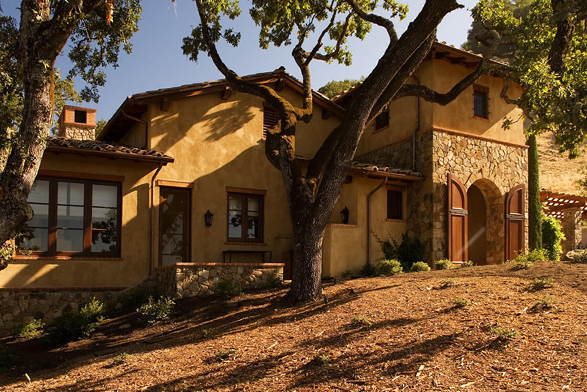 Wine Country Retreat exterior