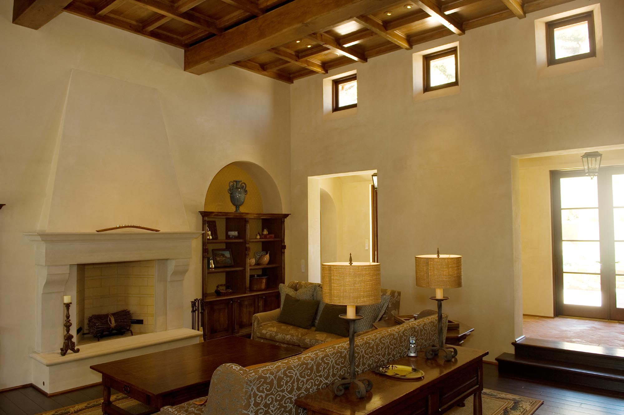 Wine Country Retreat livingroom